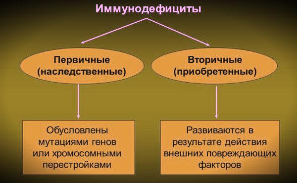 схема иммунодецициты