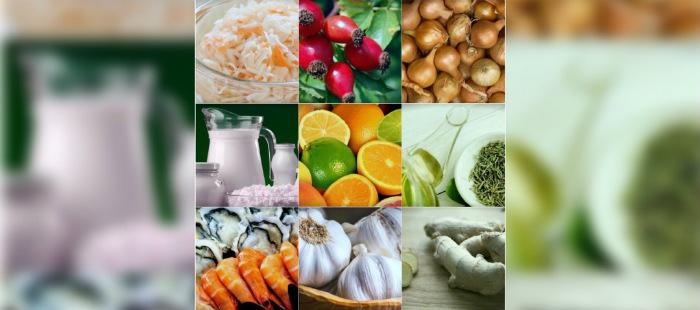 Самые полезные продукты для иммунитета