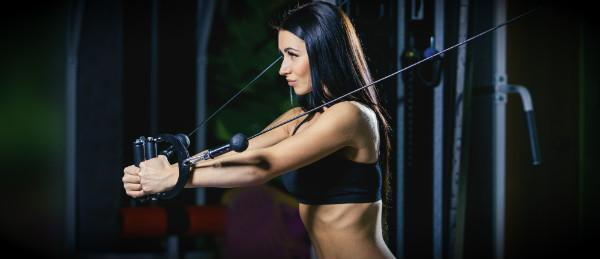 спортивная девчуля