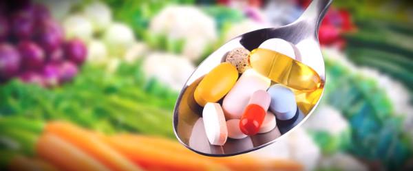 ложка с витаминами