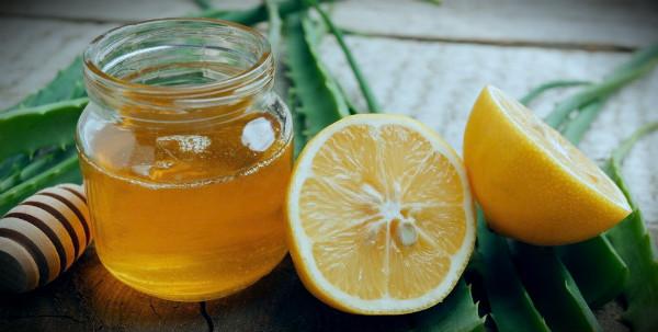 сок алое с лимоном и медом