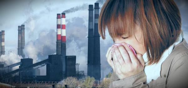 заболевания от плохой экологии