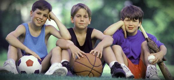 подростки и спорт