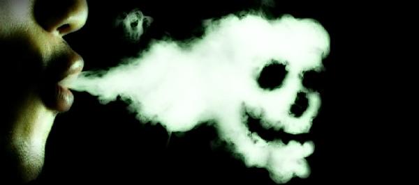 ядовитый табачный дым
