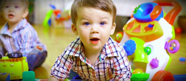 ребенок в детском саду первый день