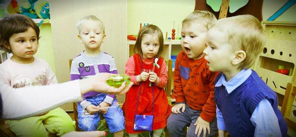 детки в садике