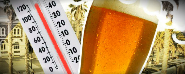 пиво в жару нельзя