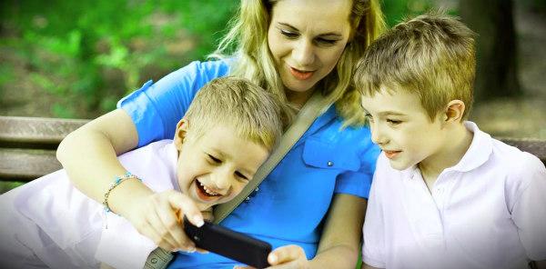 мама и сыновья