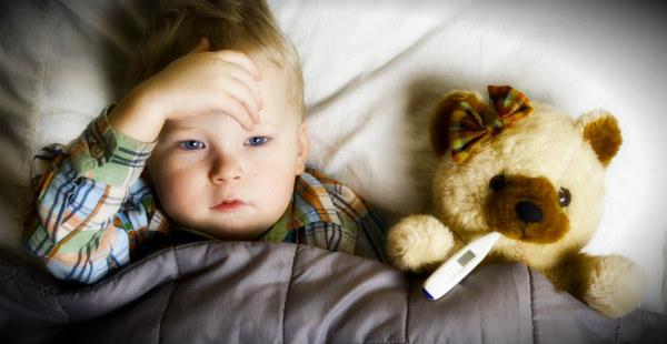 ребенок приболел