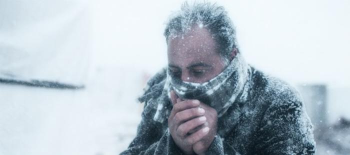 в холод без шапки