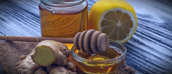 имбирно лимонный мед