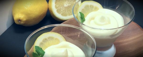 лимонные сливки