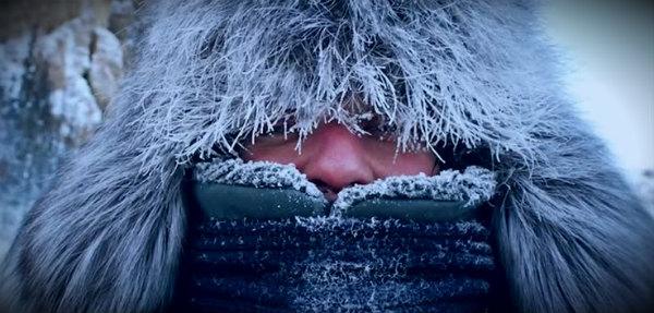 теплая одежда в морозы