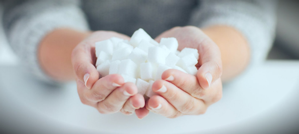 сахар в ладонях