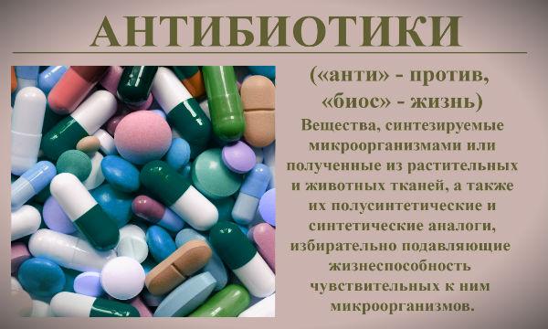 антибиотики определение