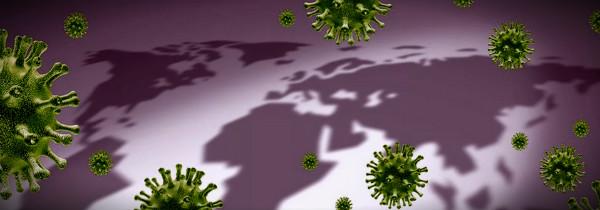 коронавирус над миром