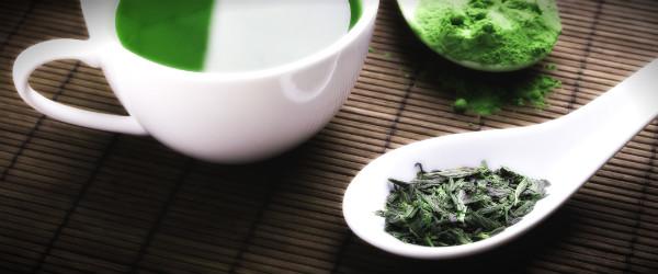 зеленый чай чашка ложка