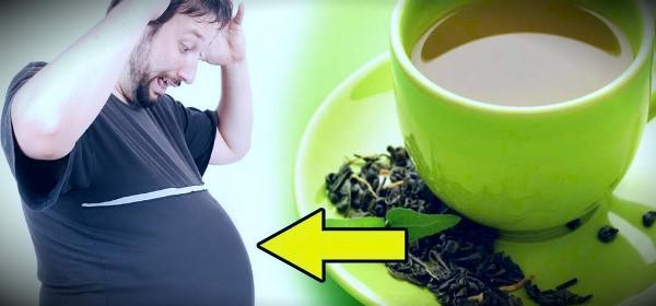похудеть с зеленый чаем