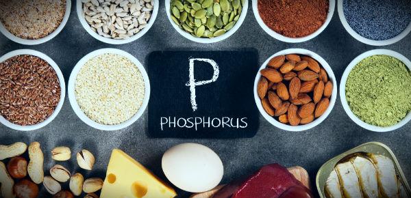 фосфор и еда